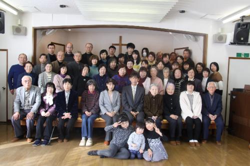 仙台南光沢教会 集合写真